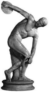 Statua discobolo greca