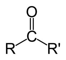 Ketone - formula chimica