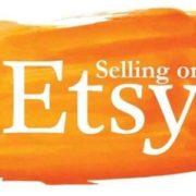 Scritta del logo Etsy