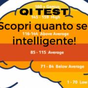 Grafica cervello con livelli di qi