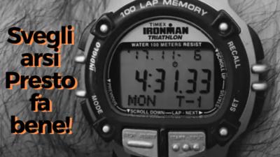 L'orologio in primo piano di Jocko Willinks che segna le 4e31 del mattino